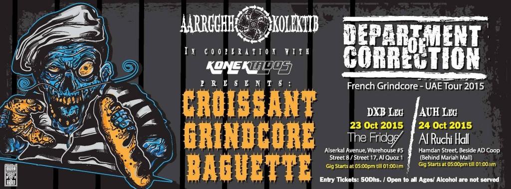 Croissant Grindcore Baguette
