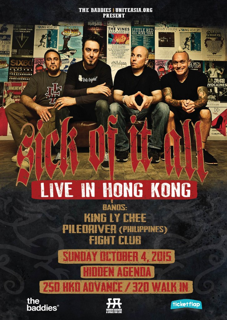 Sick of it All Live in Hong Kong