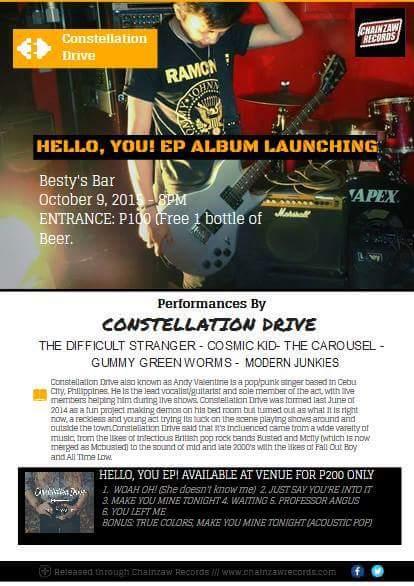 Constellation Drive EP Album launching