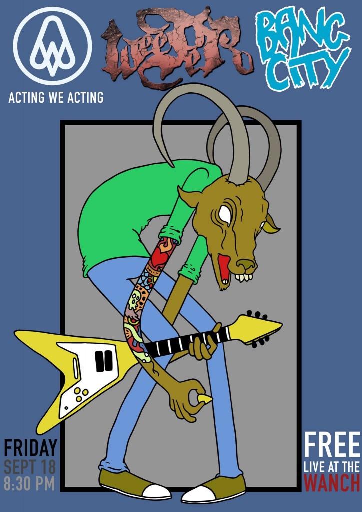 WEEPER / ACTING WE ACTING / BANG CITY