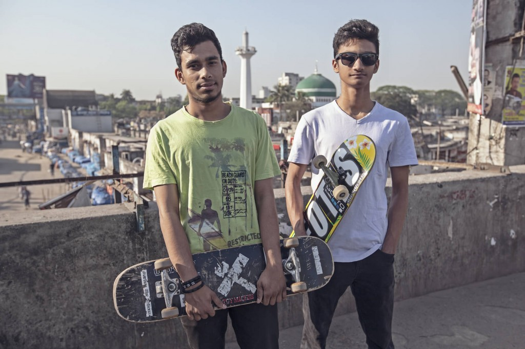 Skateboarding in Bangladesh