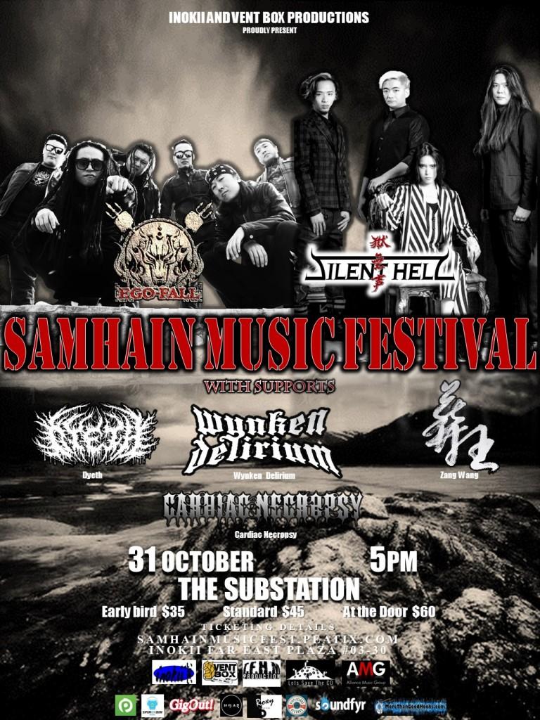 SAMHAIN MUSIC FESTIVAL ( SINGAPORE )
