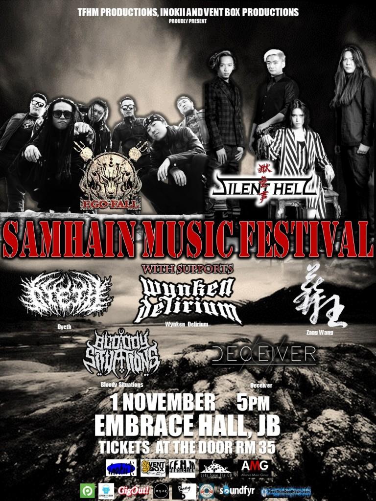 SAMHAIN MUSIC FESTIVAL ( JOHORE, MALAYSIA )