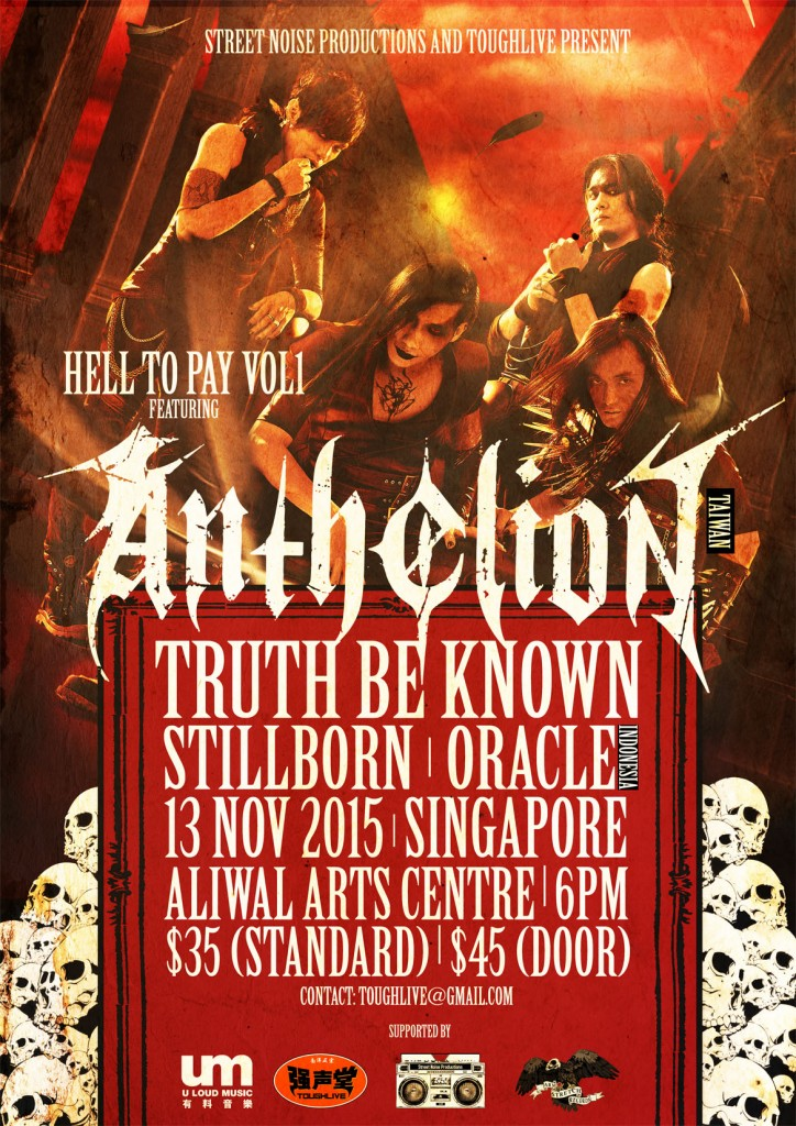 Hell to Pay vol 1: Anthelion ?? Live in Singapore