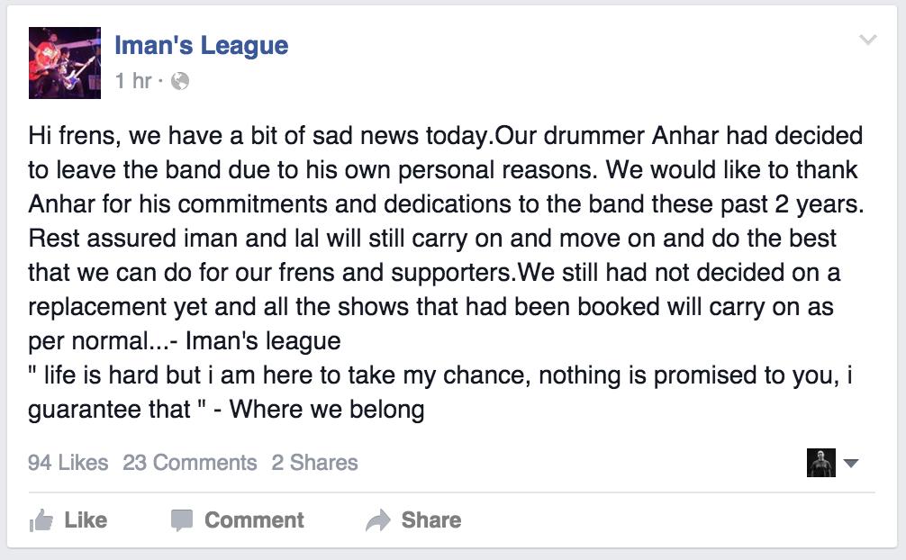 Iman's League
