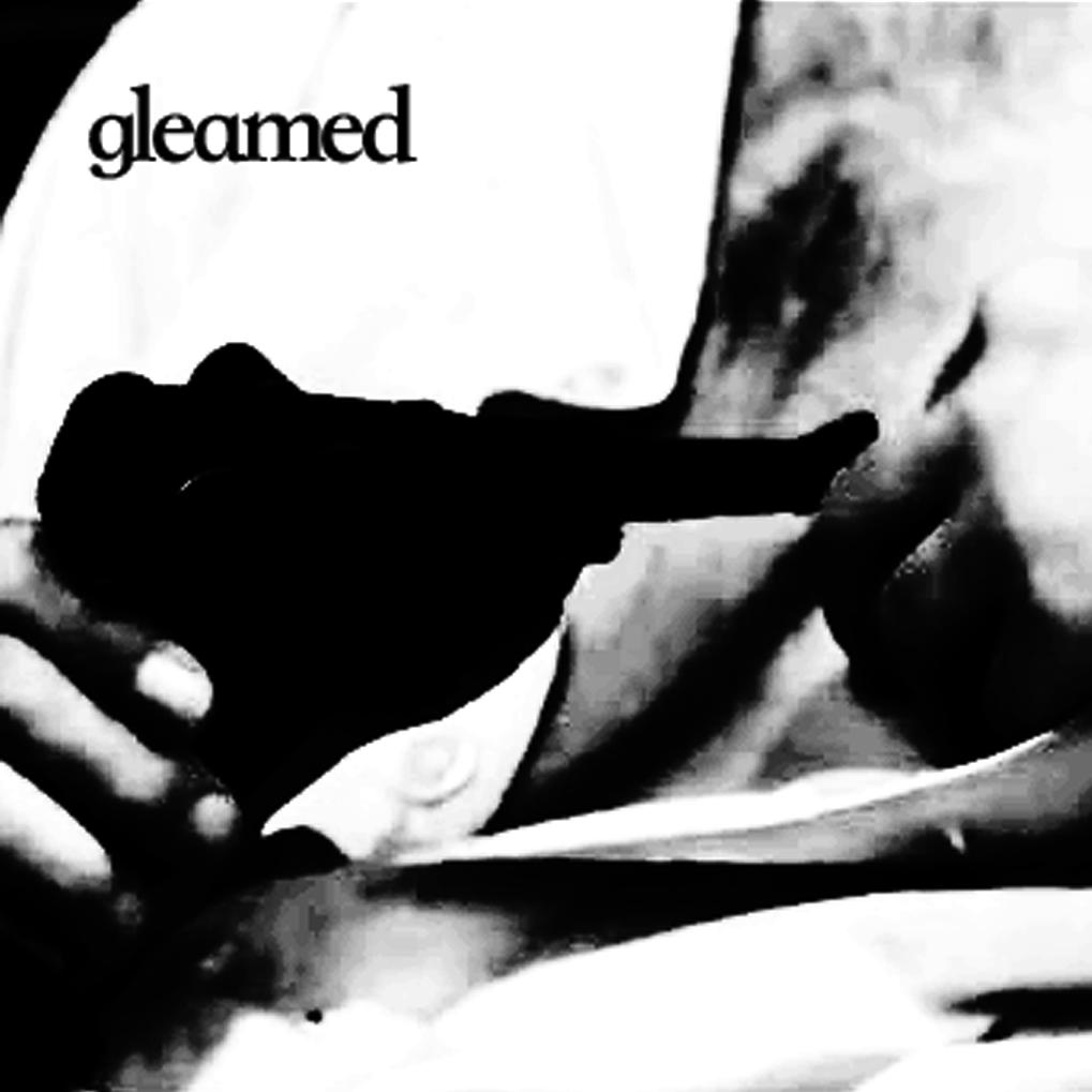 gleamed