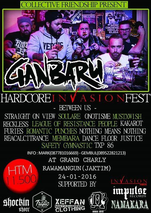 HARDCORE INVASION FEST 2016