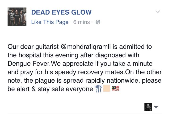 dead eyes glow