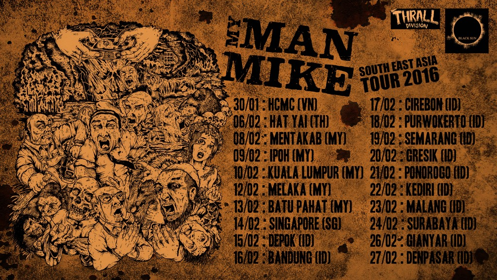 MyManMike (fastcore from South Korea) on tour in South East Asia
