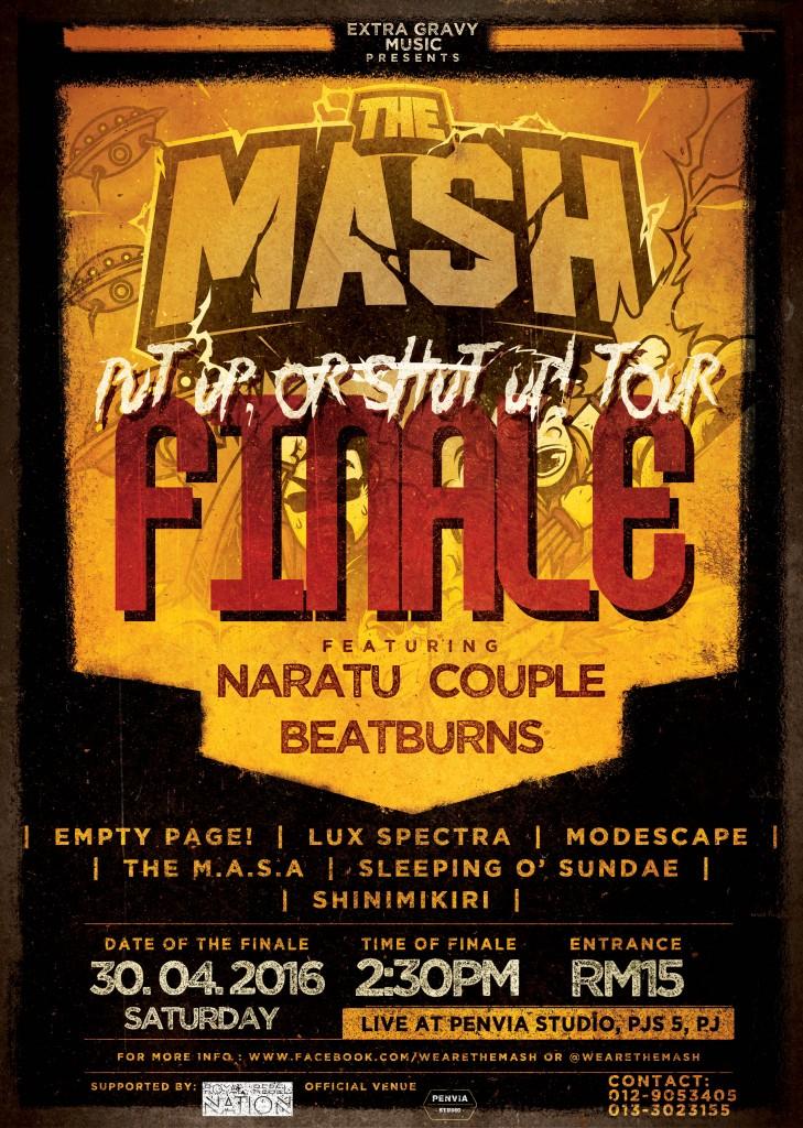 "The MASH ""Put Up, Or Shut Up!"" Tour Finale Party"