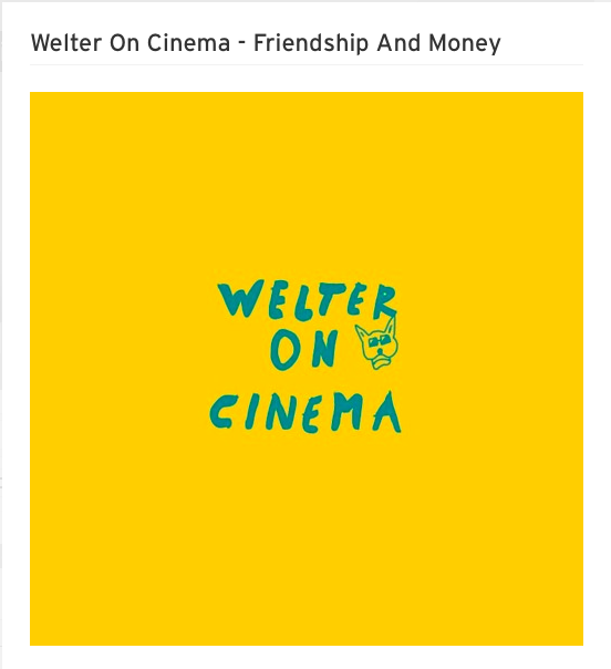 welter on cinema