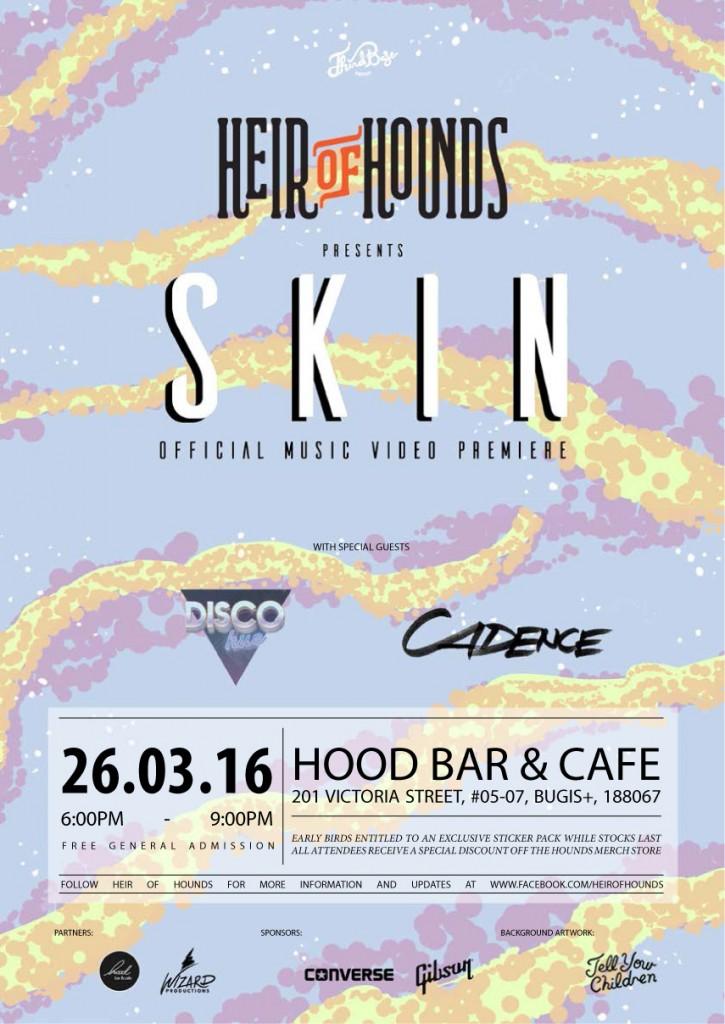 Heir of Hounds' Video Premiere of Skin ft. Gentle Bones