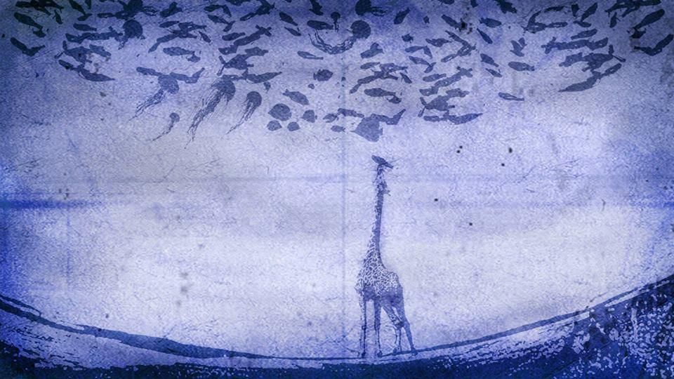 giraffe eat fish