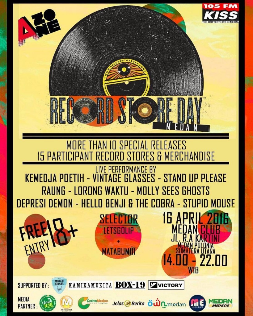 RECORD STORE DAY MEDAN