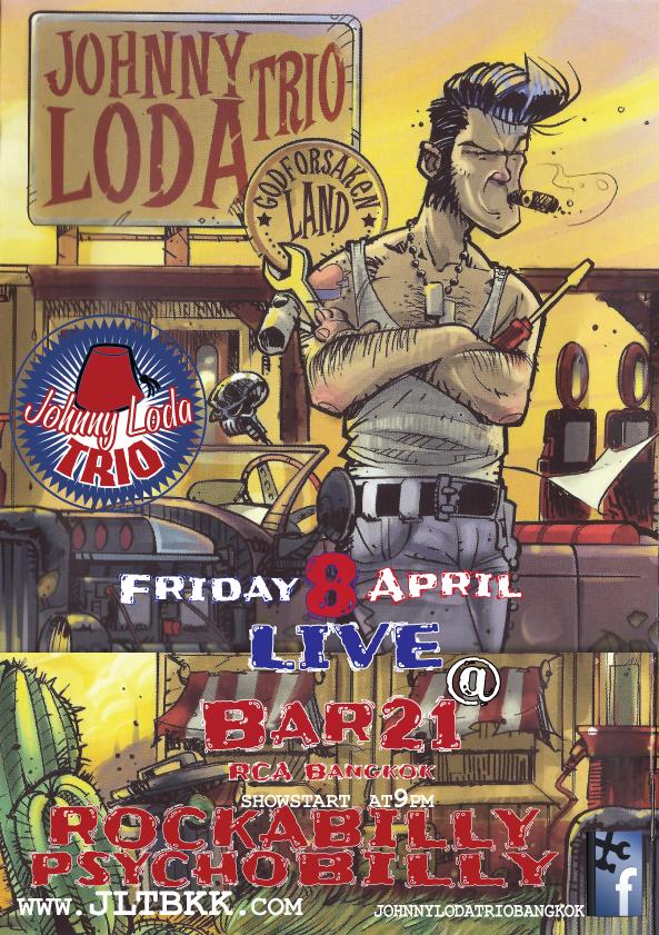 Johnny Loda Trio Live – The rockapsyco