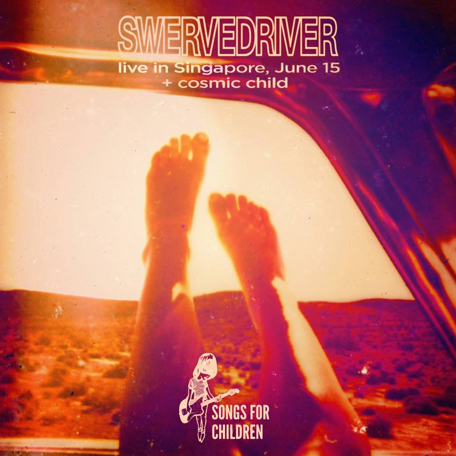 Swervedriver live in Singapore 15th June