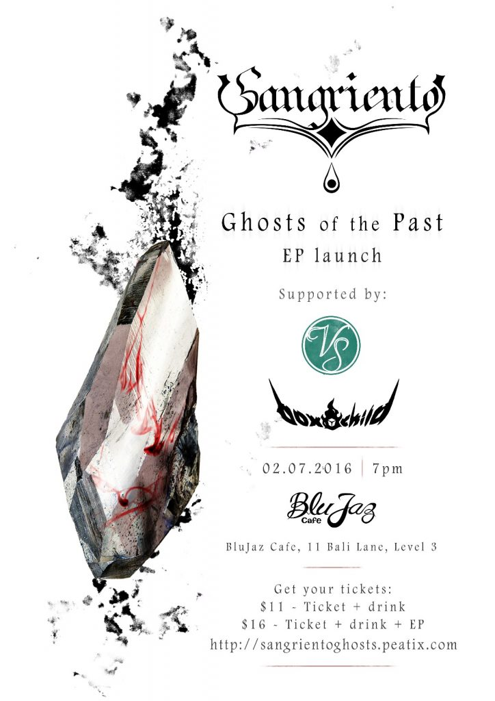 """Sangriento """"Ghosts of the Past"""" EP Launch"""