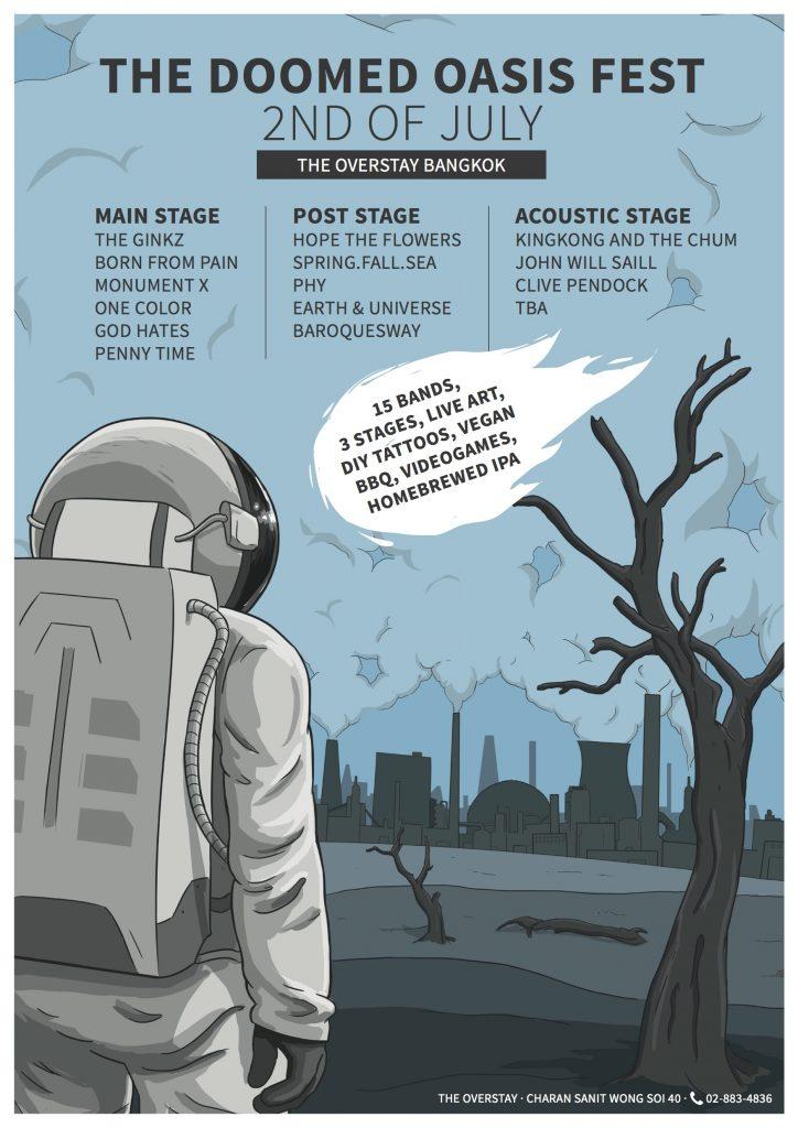The Doomed Oasis Fest