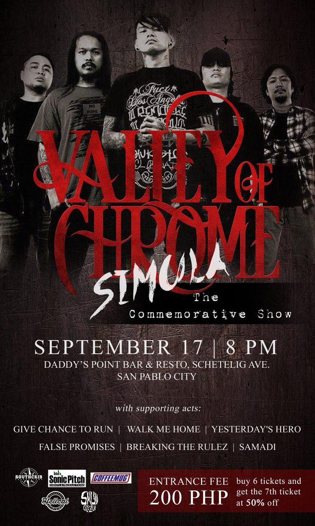 SIMULA – Valley Of Chrome Commemorative Show in San Pablo City