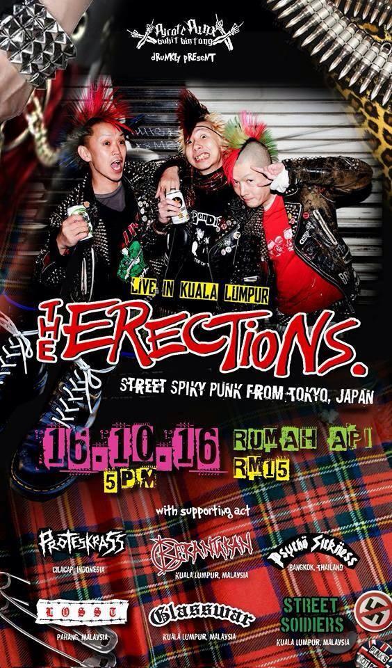 The Erections – Kuala Lumpur