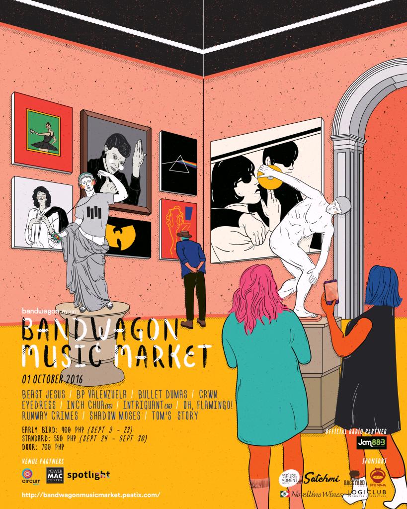 Bandwagon Music Market PH 2016