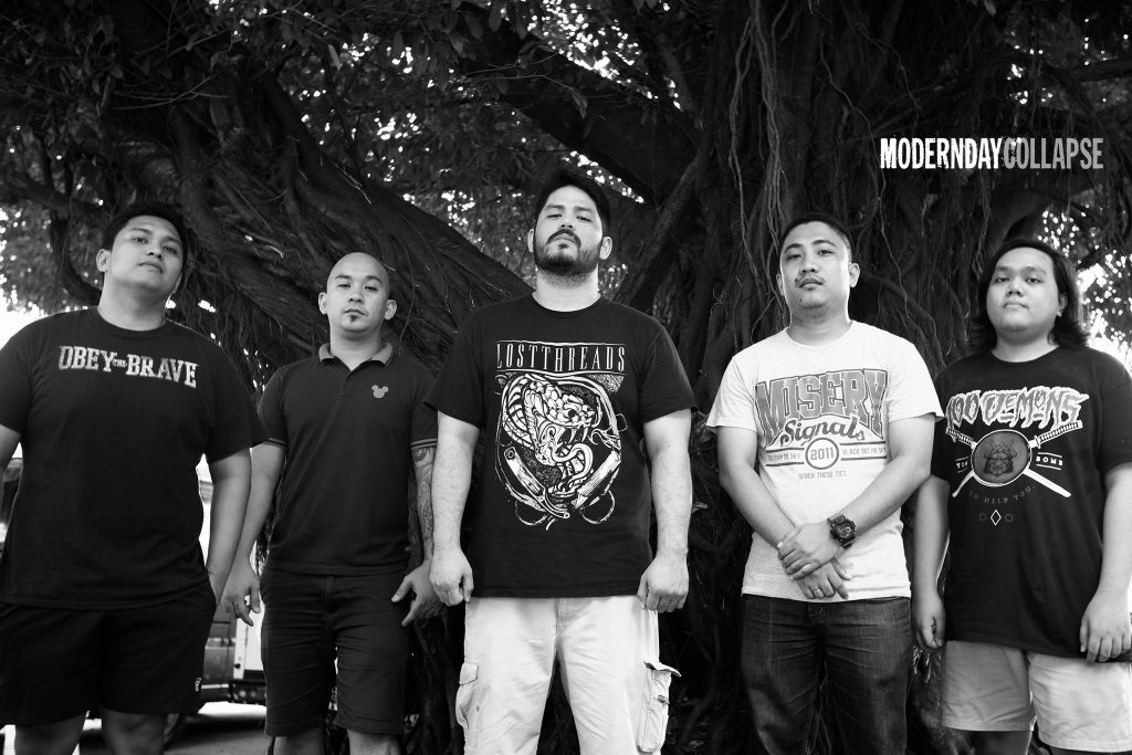 Hardcore band Modern Day Collapse release music video [Philippines