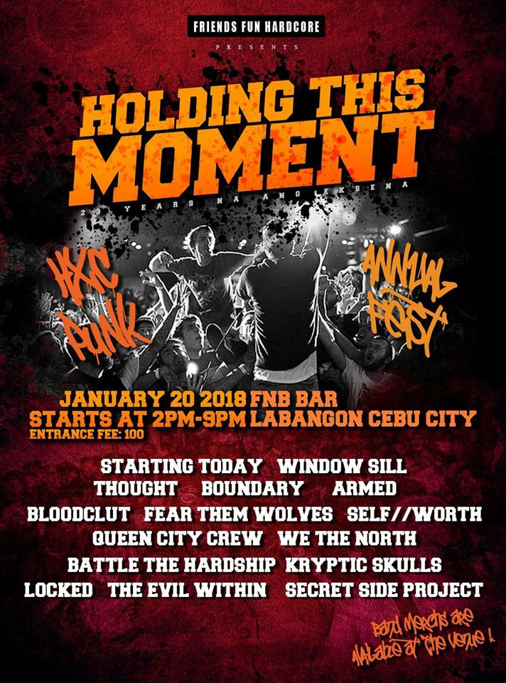 23rd annual hardcore punk fest in Cebu ready to roll on