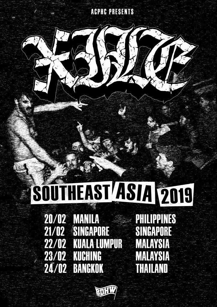 New Zealand Heavy Hardcore Act XILE Return To Southeast Asia - Unite