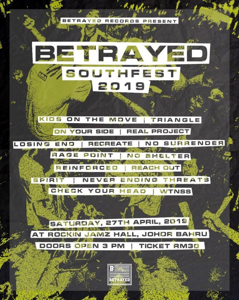 betrayed southfest