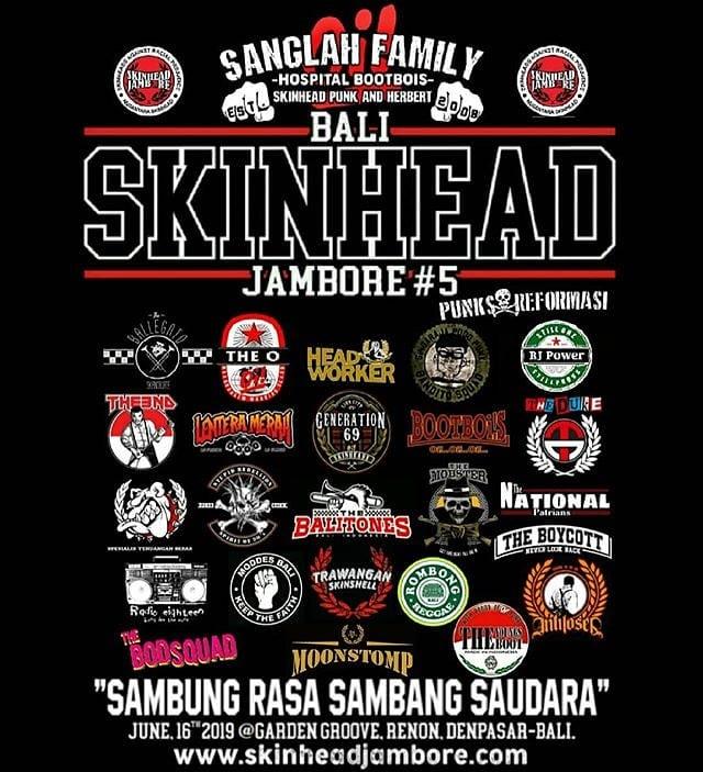 bali skinhead jambore